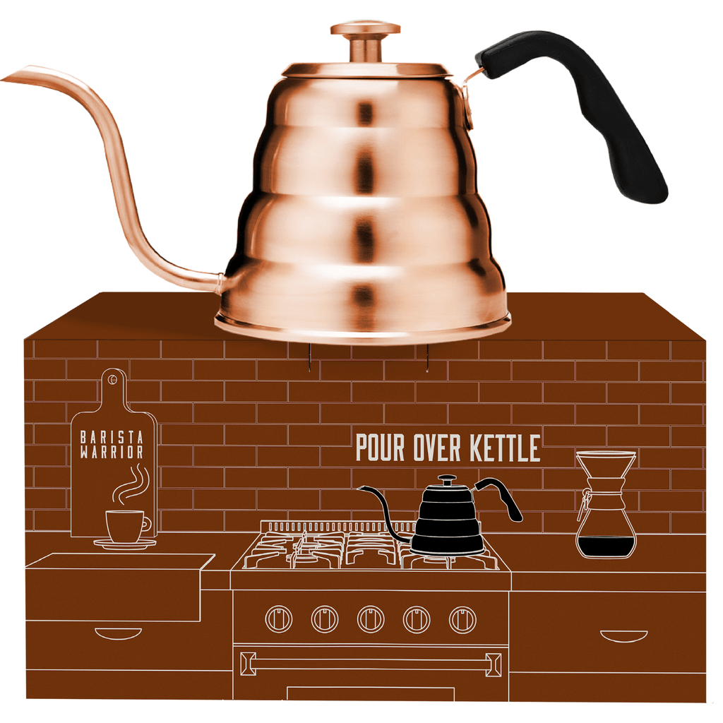 Pour Over Coffee Kettle - Large 1.2 Liter | 40 fl oz (Copper)