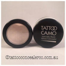 Tattoo Camo Concealer Single Kit with Setting Powder