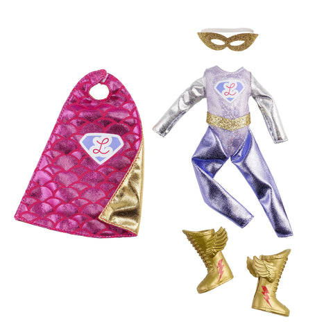 Super Lottie Lottie Doll Superhero Outfit