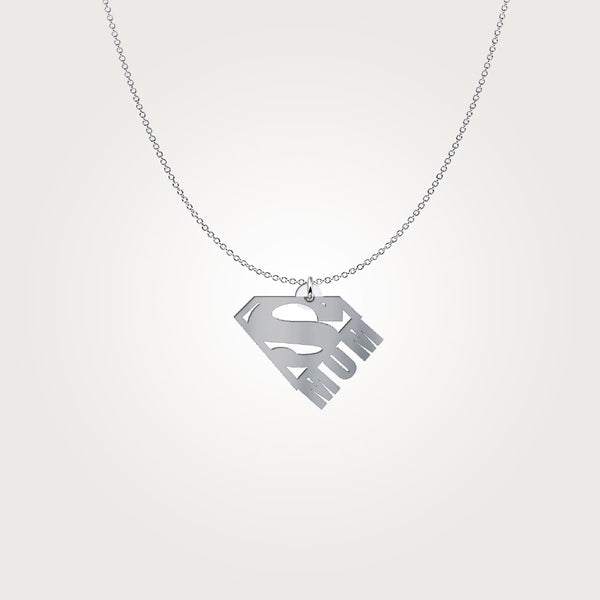 Super Mom Necklace - Hosanna Store
