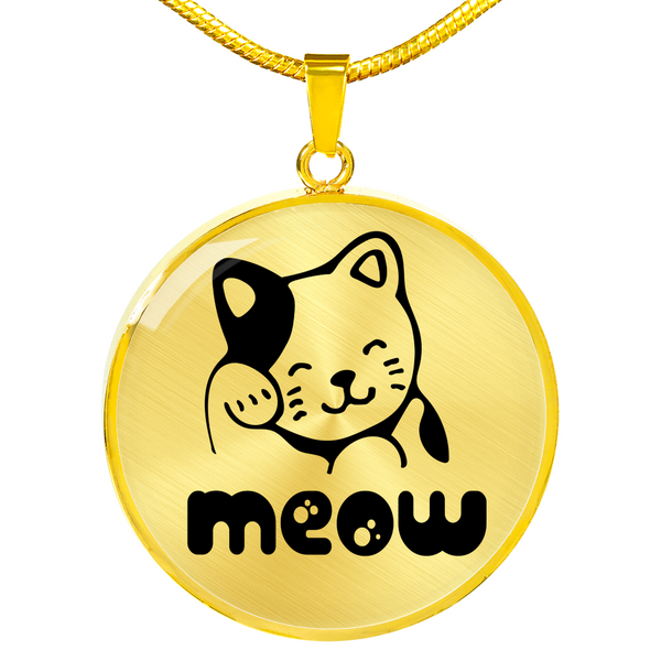 Meow Necklace - Hosanna Store
