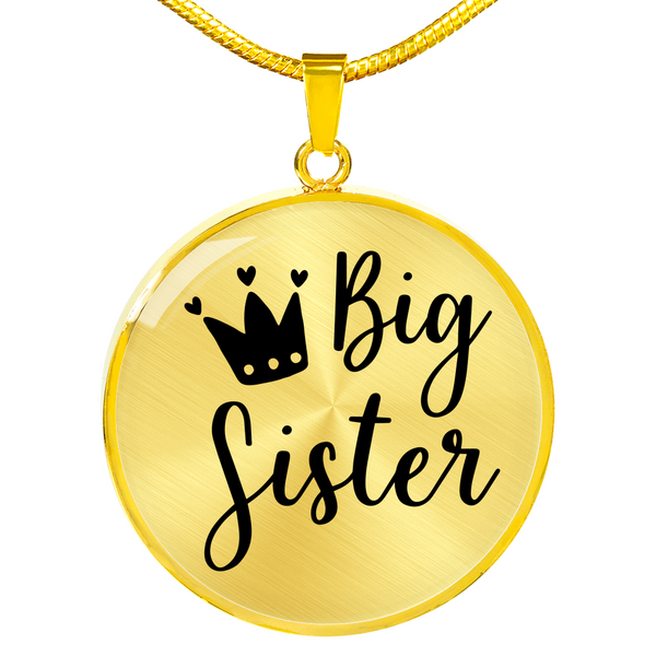Big Sister Necklace - Hosanna Store