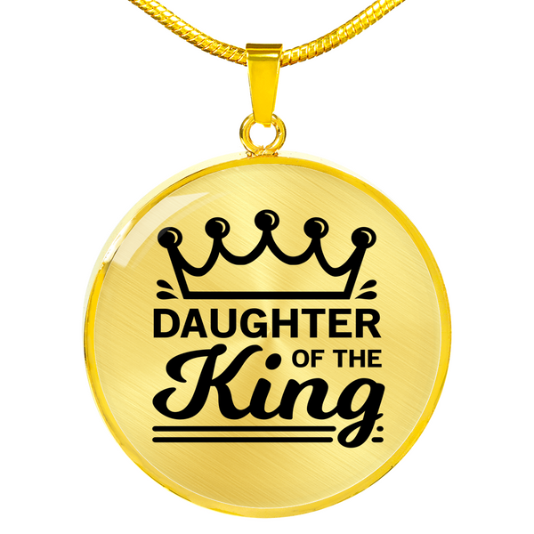 Daughter Of The King Necklace - Hosanna Store