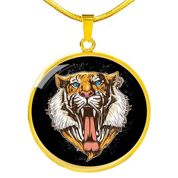 Roaring Tiger Necklace - Hosanna Store