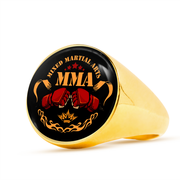 Mix Martial Arts Signet Ring - Hosanna Store