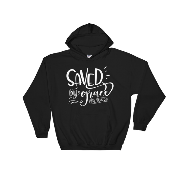 Saved By Grace Hoodie - Hosanna Store