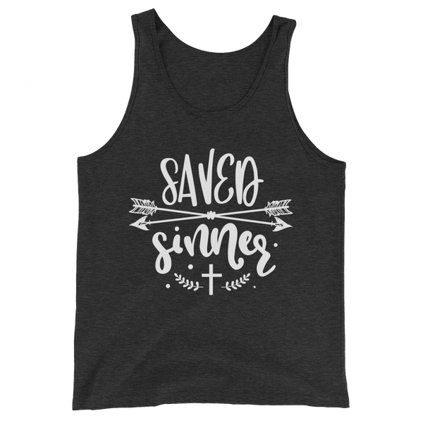 Saved Sinner Tank Top - Hosanna Store