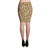 Leopard Pencil Skirt - Hosanna Store