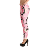 Camouflage Pink Print Leggings - Hosanna Store