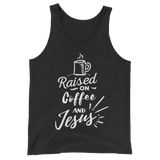 Raised On Coffee & Jesus Tank Top - Hosanna Store