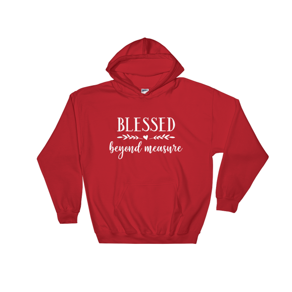 Blessed Beyond Measure Hoodie - Hosanna Store