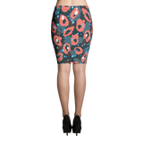 Leopard Pattern Pencil Skirt - Hosanna Store