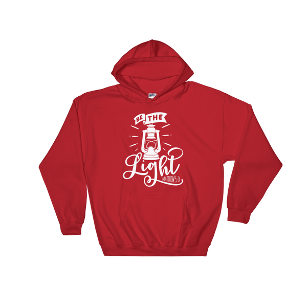 Be The Light Hoodie - Hosanna Store