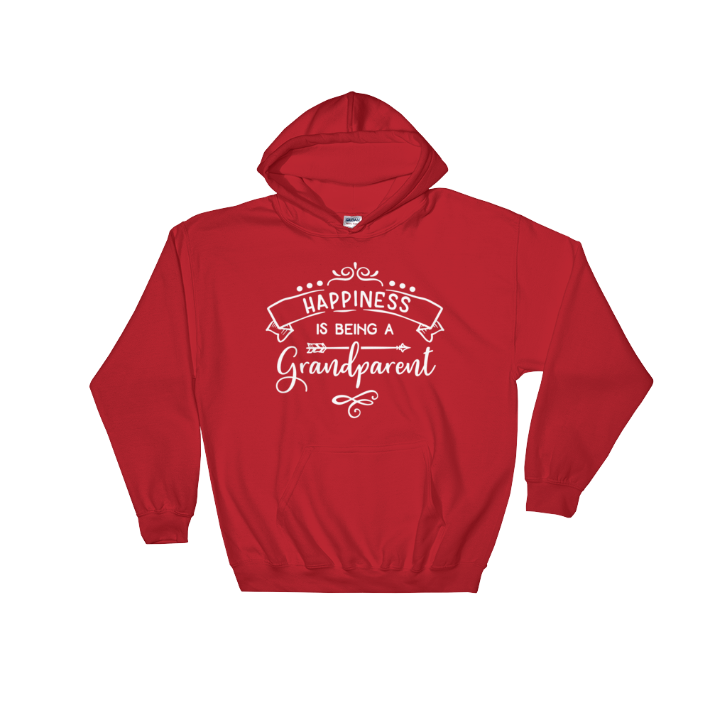 Happiness Is Being A Grandparent Hoodie - Hosanna Store
