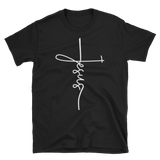 Jesus Cross T-shirt - Hosanna Store