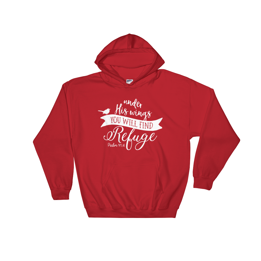 Under His Wings Hoodie - Hosanna Store