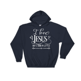 I Love Jesus But I Cuss A Little Hoodie