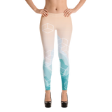 Light Watercolor Pattern Legging