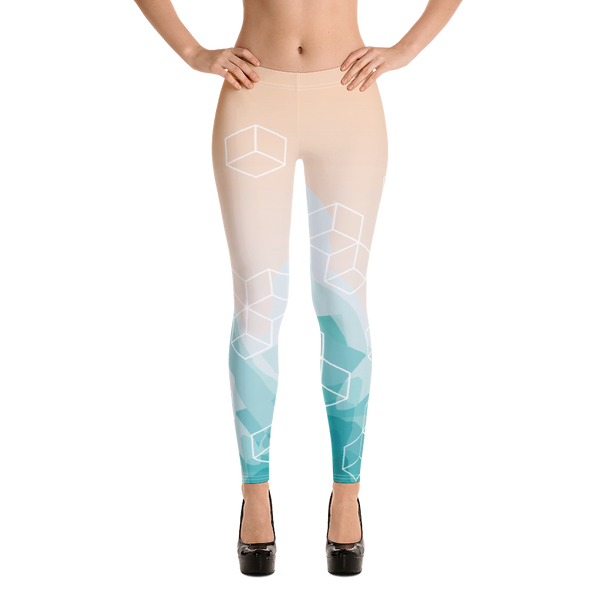 Light Watercolor Pattern Legging - Hosanna Store