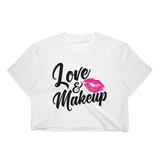Love & Makeup Crop Tee - Hosanna Store