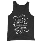 Give Thanks To The Lord Tank Top