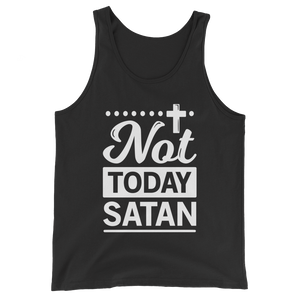 Not Today Satan Tank Top - Hosanna Store