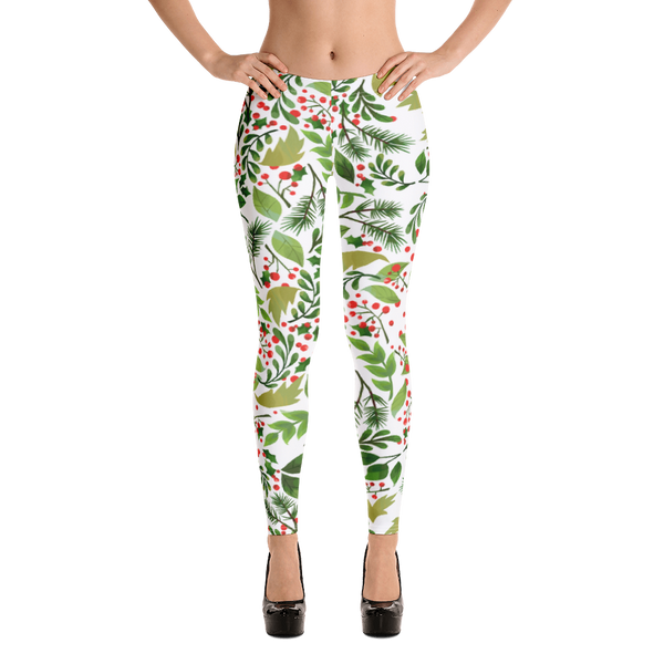 Holly Pattern Legging - Hosanna Store