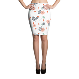 Cute Flowers Pencil Skirt