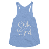 Child of God Women's Tri-Blend Racerback Tank - Hosanna Store