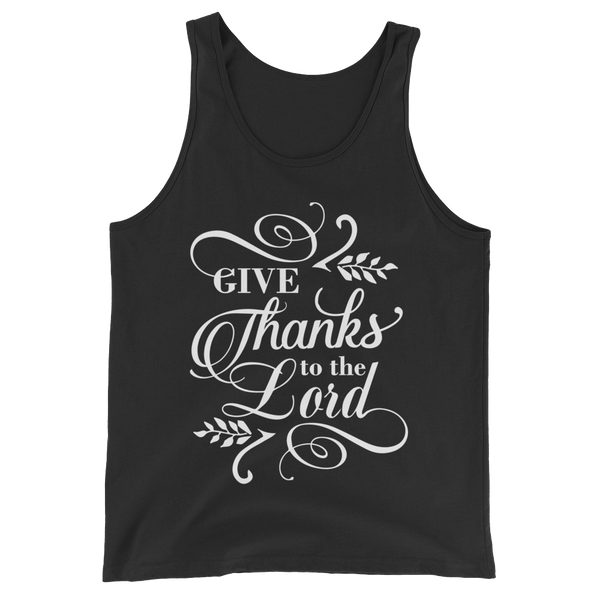 Give Thanks To The Lord Tank Top - Hosanna Store