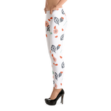 Cute Flowers Leggings - Hosanna Store