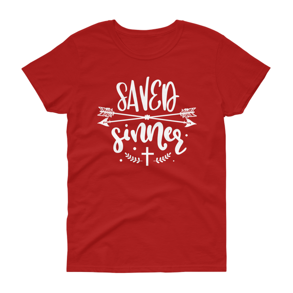Saved Sinner T-shirt - Hosanna Store