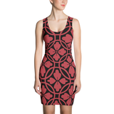 Black & Red Dress - Hosanna Store