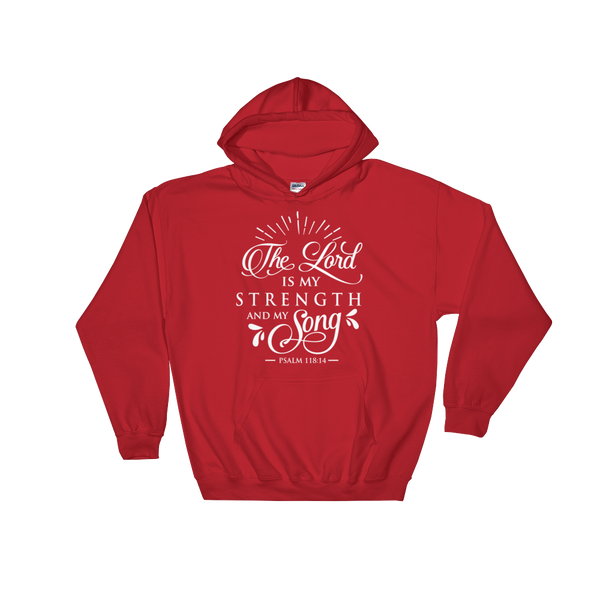 The Lord Is My Strength & Song Hoodie - Hosanna Store