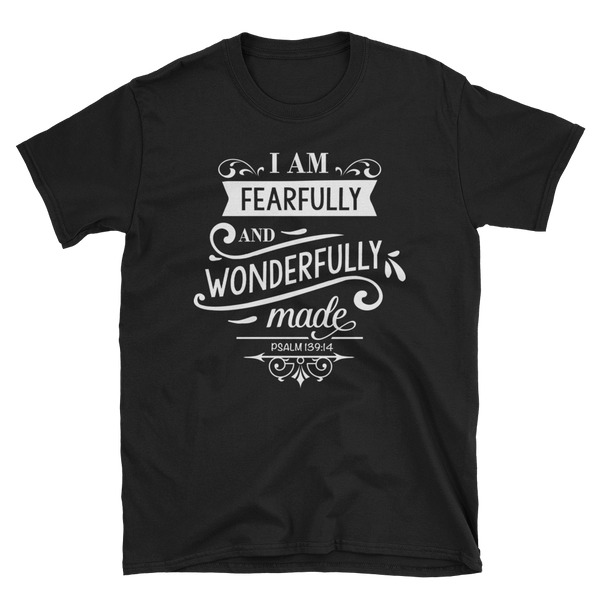 I Am Fearfully & wonderfully Made T-shirt - Hosanna Store