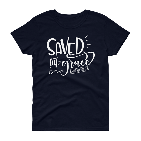 Saved By Grace T-shirt - Hosanna Store