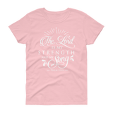 The Lord Is My Strength & Song T-shirt - Hosanna Store