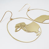 Dachshund in gold