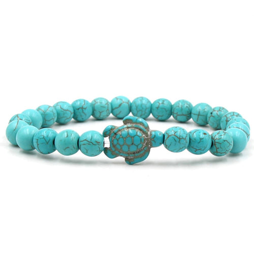 Sea Turtle Beads Bracelets - 14 Colors