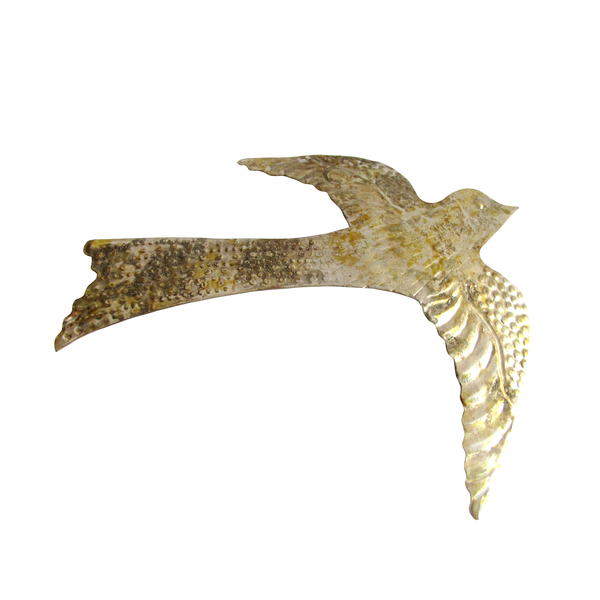 Gold metal bird