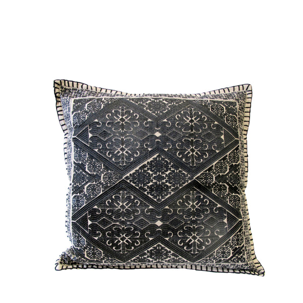 TRIBAL EMBROIDERY CUSHION LARGE