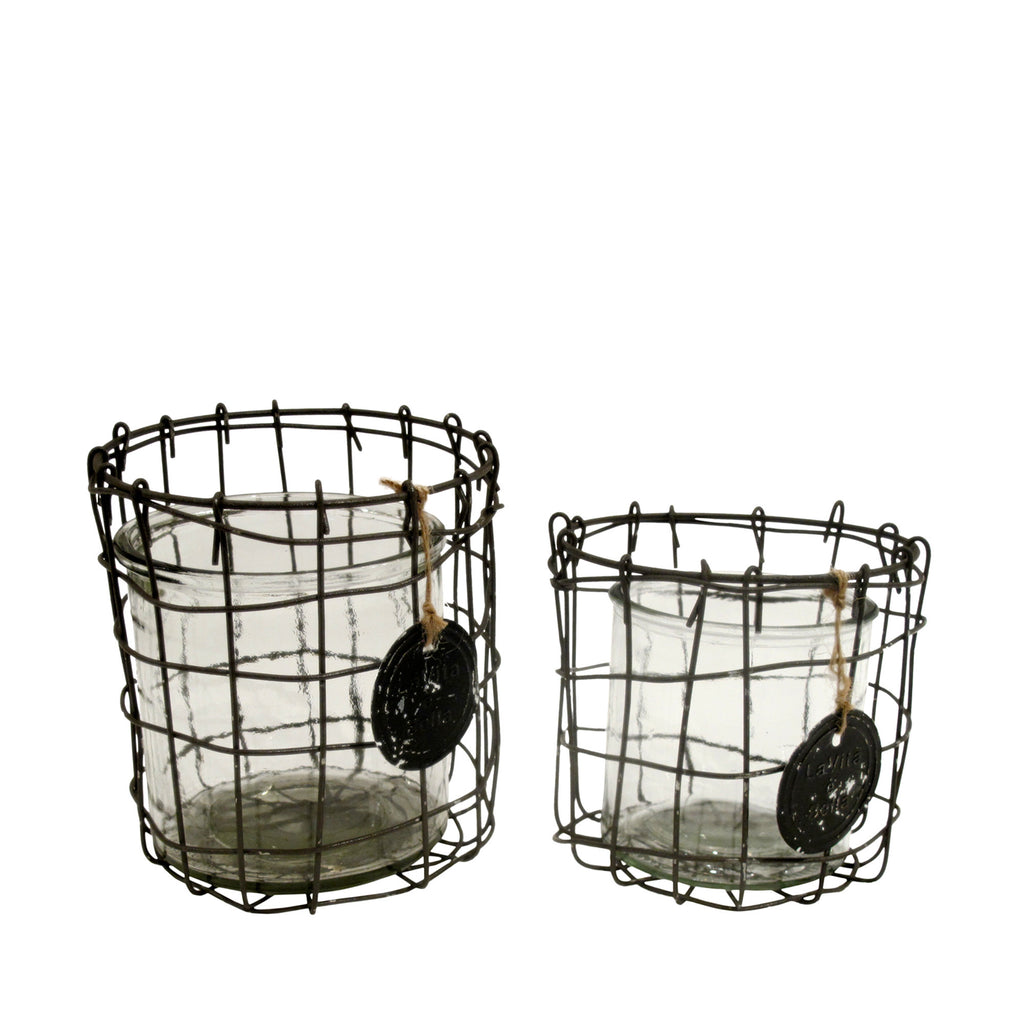 Wire pots set/2