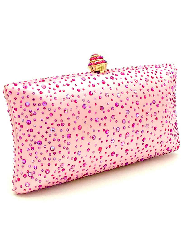 Sparkling Crystal Evening Clutch