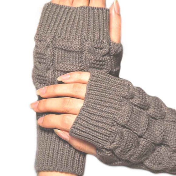 Women's Stretch Crochet Knit Gloves