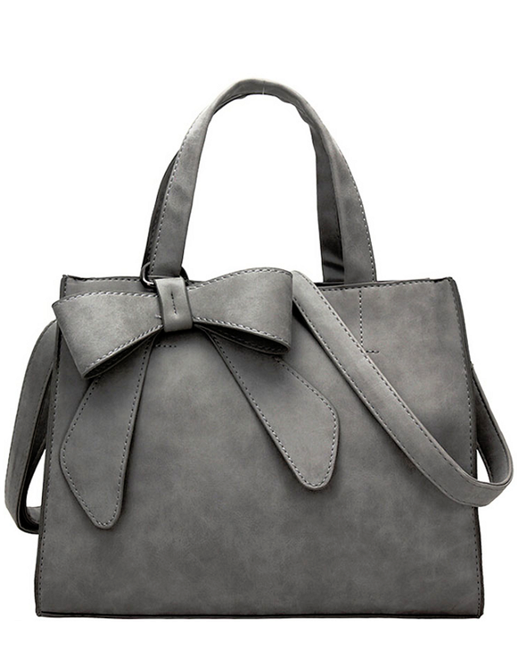 Bow-tie Women's Satchel Handbag
