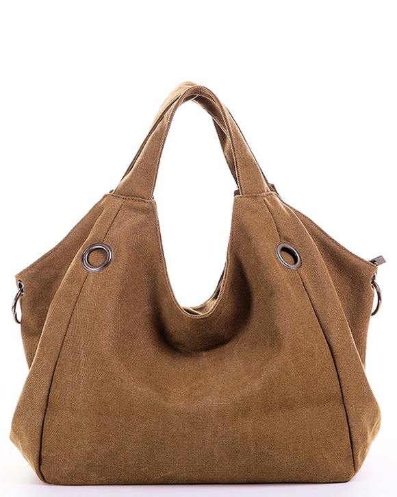 Fashion Canvas Satchel Handbag