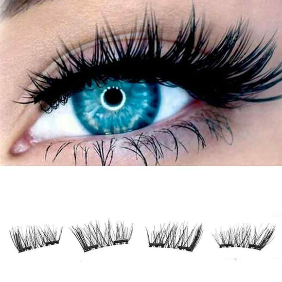 Long Natural - Magnetic False Eyelashes