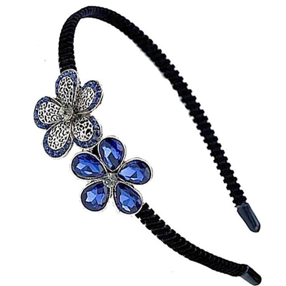 Handmade Flower Crystal Hairband