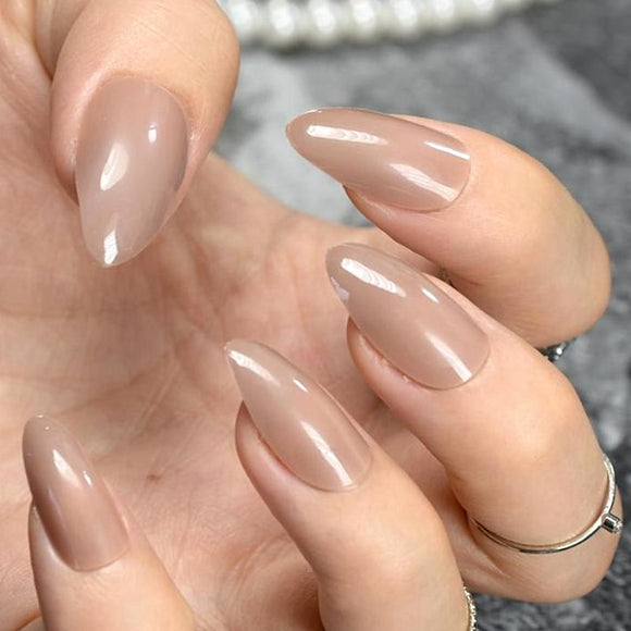 24 Piece - Pointed Long Press On Nails
