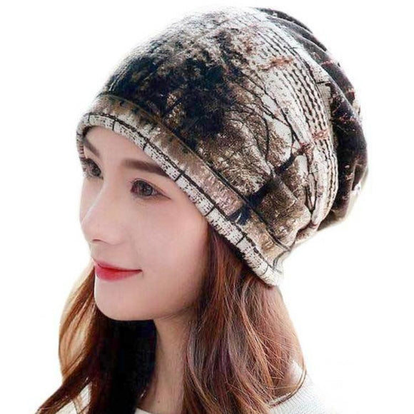 Floral & Forest Pattern Polyester Hat